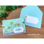 カードキットを使った夏の手作りカード